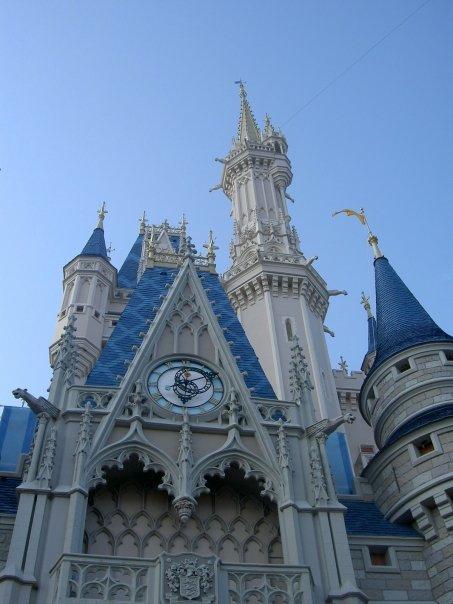 Cinderella Castle Close up