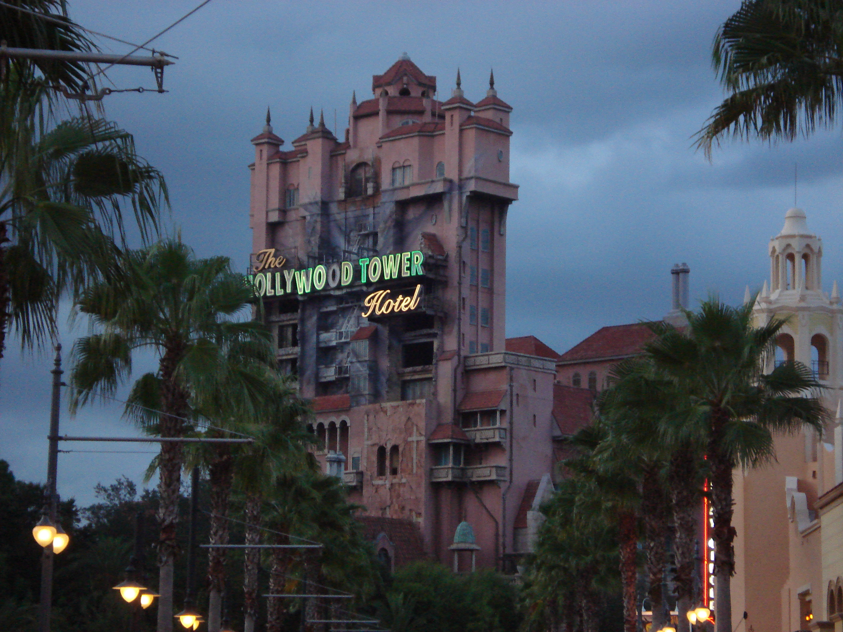 Image result for tower of terror sunset boulevard