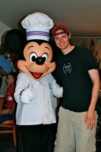 My brother (a chef himself) & Chef Mickey