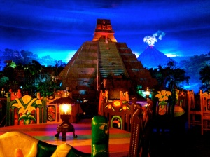 Inside EPCOT Mexico