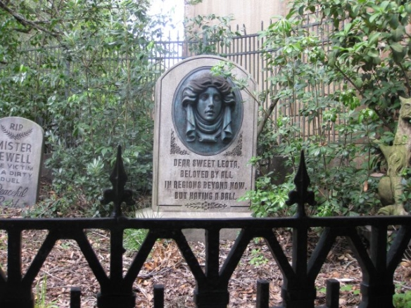 Haunted Mansion Tombstone