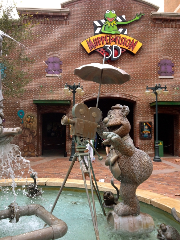 Muppets Fountain