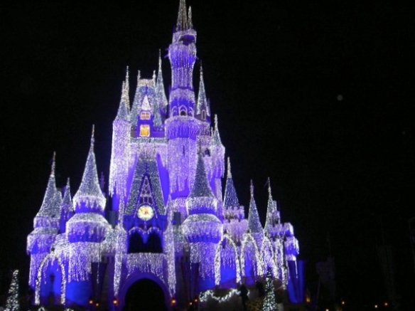 Christmas Cinderella Castle 2