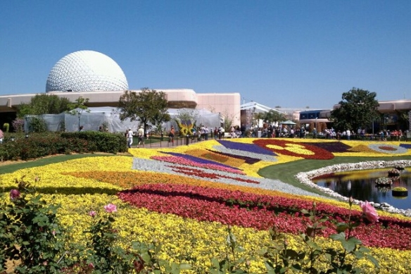 Epcot Flower & Garden Bed