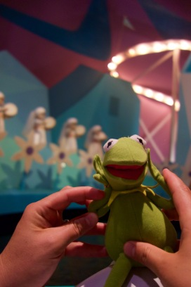 How hubby feels about it's a small world...
