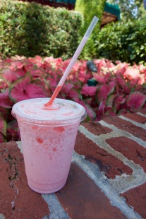 Raspberry Lemonade Slush from Cheshire Cafe